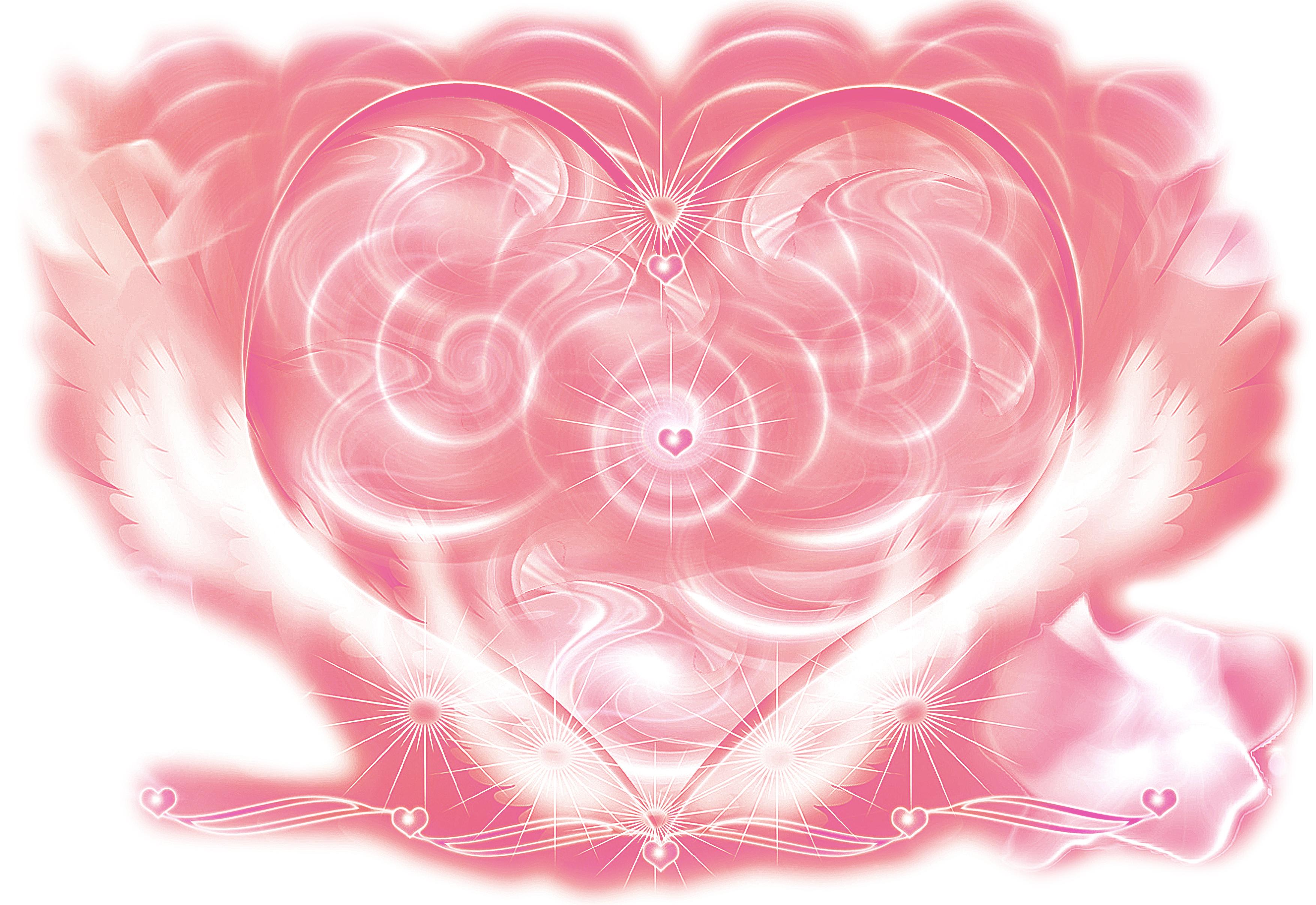 Pink Heart -Divine Plan-